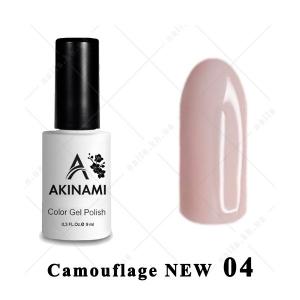 .004 - Akinami Color Gel Polish  Camouflage NEW, 9ml