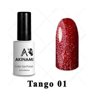 001 - Akinami Color Gel Polish  Tango, 9ml