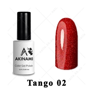 002 - Akinami Color Gel Polish  Tango, 9ml