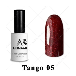 005 - Akinami Color Gel Polish  Tango, 9ml