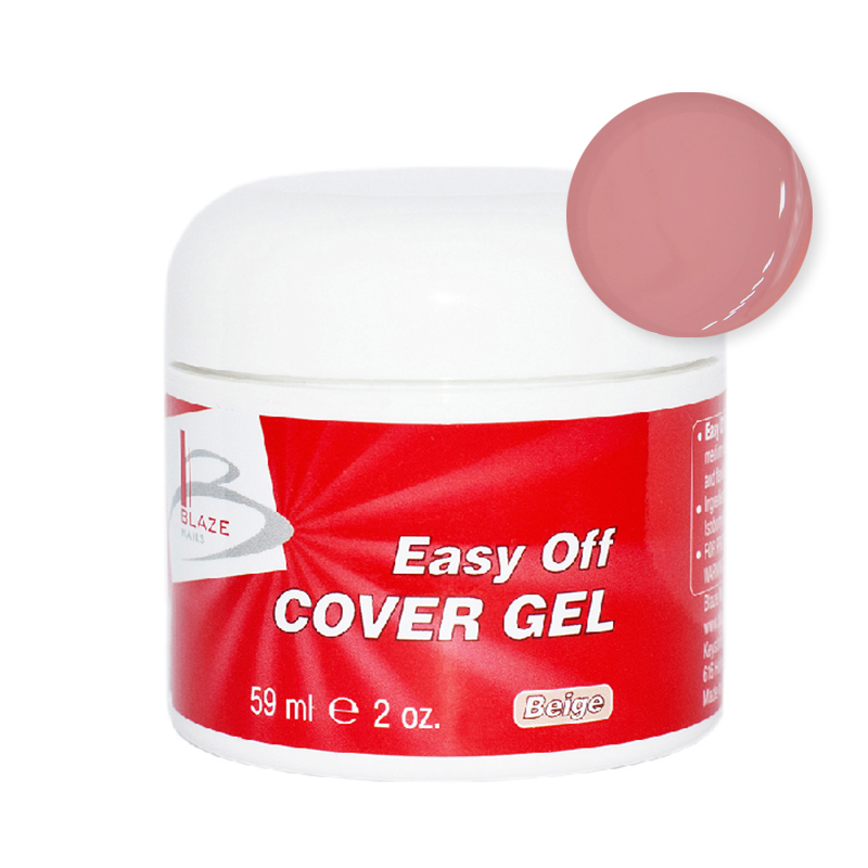 BLAZE Easy Off Cover Gel  / Beige 59 мл 59 мл