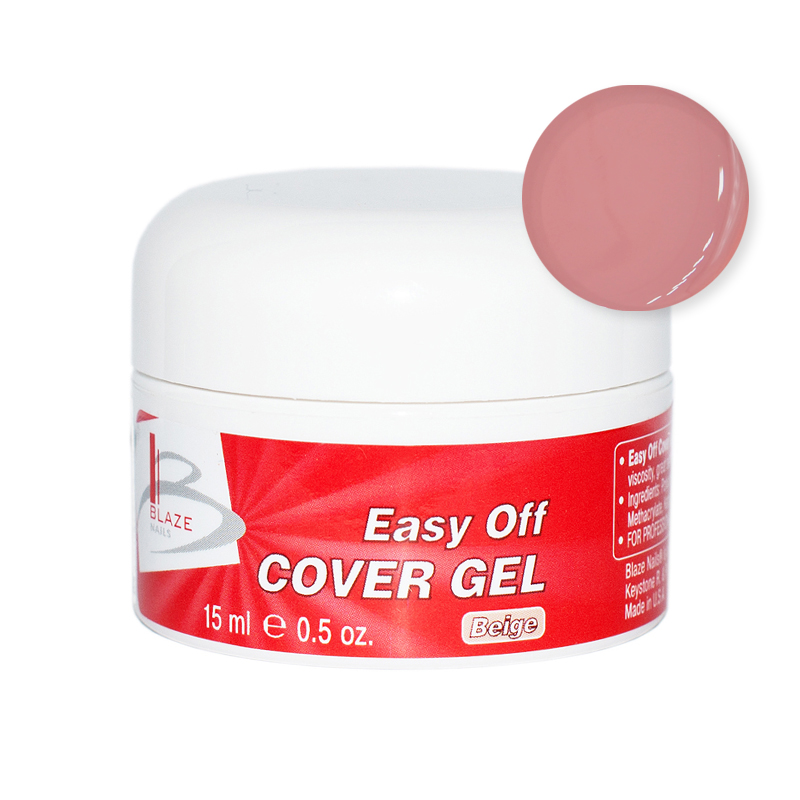 BLAZE Easy Off Cover Gel  / Beige 15 мл 15 мл