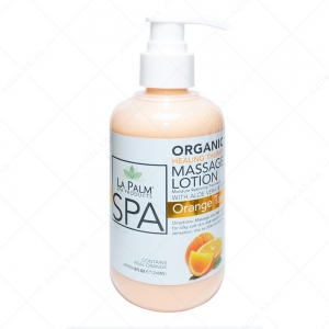 LA PALM Healing Therapy Massage Lotion  / Orange Tangerine Zest - Цедра апельсина 236 мл 236 мл