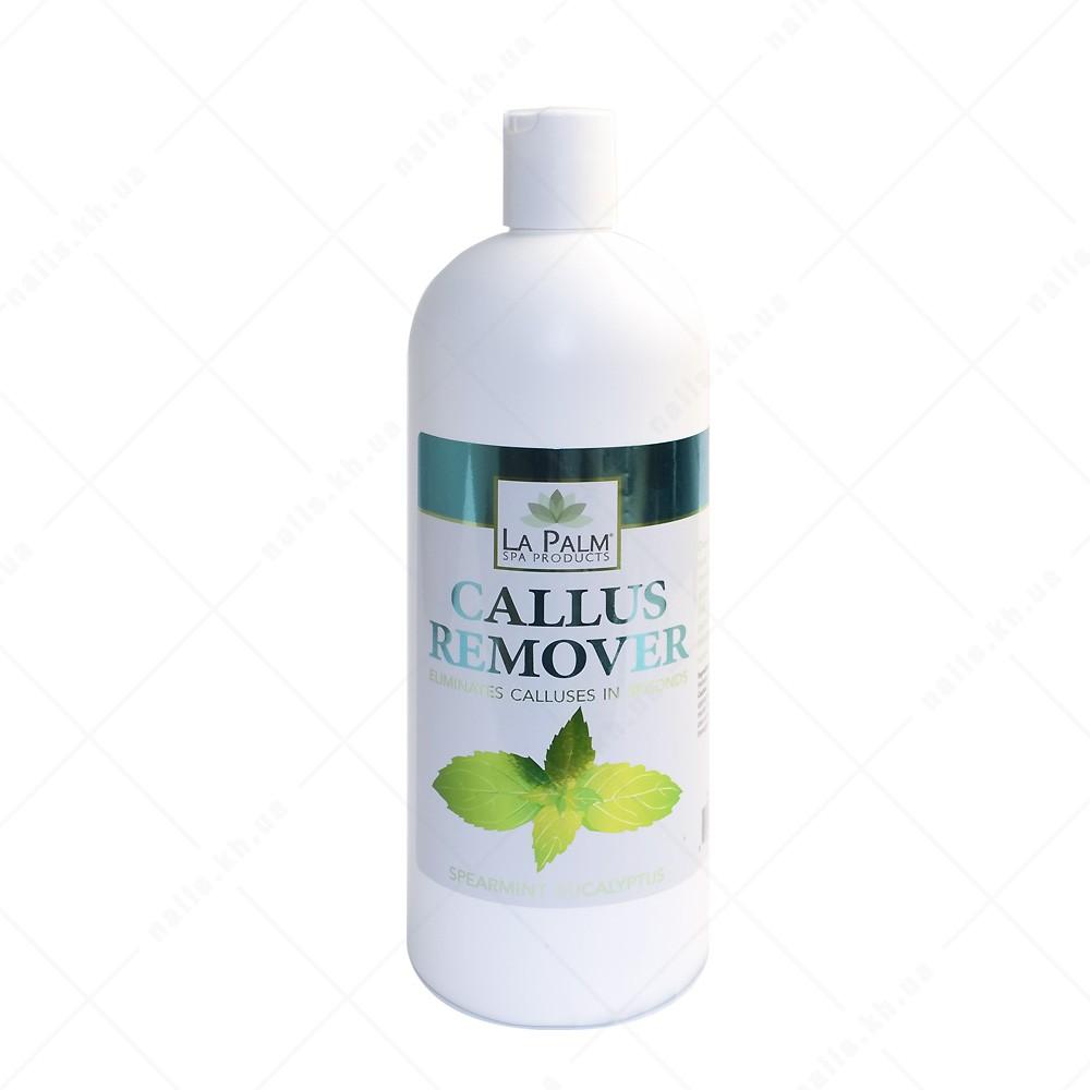 LA PALM Средство для удаления мозолей и натоптышей / Spearmint Eucalyptus / Мята и Эвкалипт 946 мл