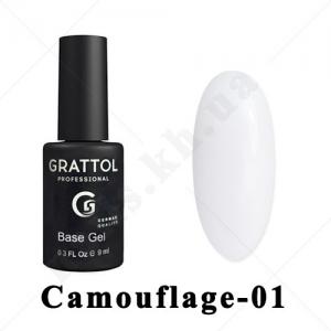 001 - GRATTOL Base  Camouflage, 9ml