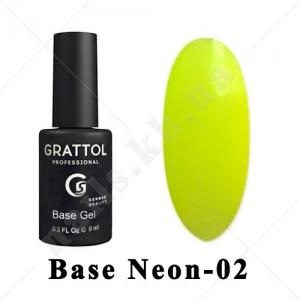 002 - GRATTOL Base  Camouflage Neon - камуфлирующая база Неон