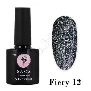 SAGA Гель-лак светоотражающий Fiery № 12, 8 мл