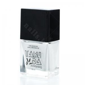 002 TakiDa Лак-краска для стемпинга Белая, 10 ml