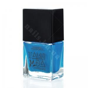 010 TakiDa Лак-краска для стемпинга Насыщенно-голубой, 10 ml