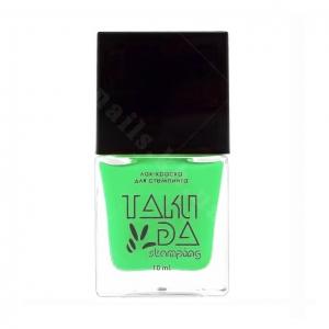 012 TakiDa Лак-краска для стемпинга Салатовый, 10 ml