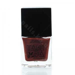024 TakiDa Лак-краска для стемпинга Красная медь перл хром, 10 ml