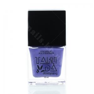 025 TakiDa Лак-краска для стемпинга Васильковый, 10 ml