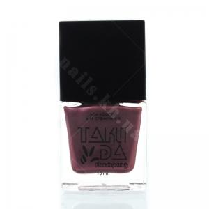 033 TakiDa Лак-краска для стемпинга Бордово-красный перл хром, 10 ml
