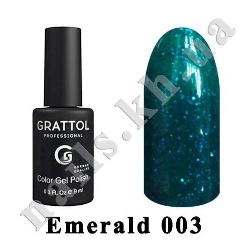 003 - Grattol  Emerald, 9ml