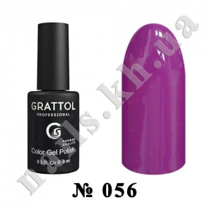 -056 - Grattol Color Gel Polish  Dark Orchid, 9ml