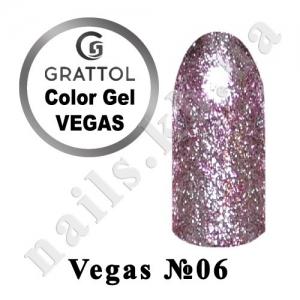 006 - Grattol гель краска в баночке  Vegas, 5 ml