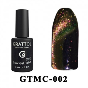 002 - Grattol Color Gel Polish  Mystery Cat, 9ml