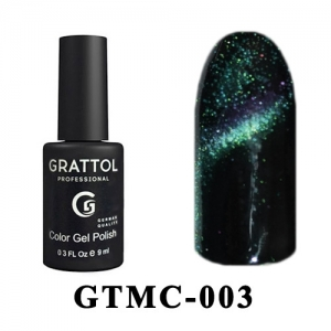 003 - Grattol Color Gel Polish  Mystery Cat, 9ml