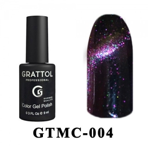 004 - Grattol Color Gel Polish  Mystery Cat, 9ml