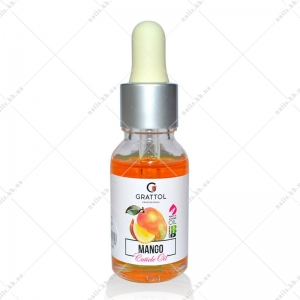 Grattol Cuticle Oil Mango 15 ml