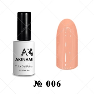 006 - Akinami Color Gel Polish - Caramel, 9ml