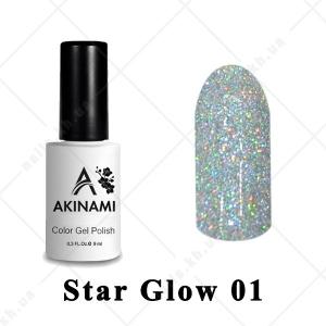 001 - Akinami Color Gel Polish  Star Glow, 9ml