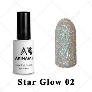 002 - Akinami Color Gel Polish  Star Glow, 9ml