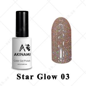003 - Akinami Color Gel Polish  Star Glow, 9ml