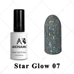 007 - Akinami Color Gel Polish  Star Glow, 9ml