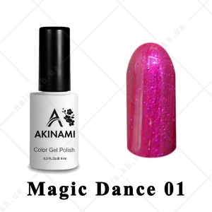 001 - Akinami Color Gel Polish  Magic Dance, 9ml