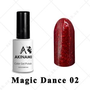 002 - Akinami Color Gel Polish  Magic Dance, 9ml