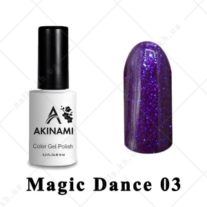 003 - Akinami Color Gel Polish  Magic Dance, 9ml