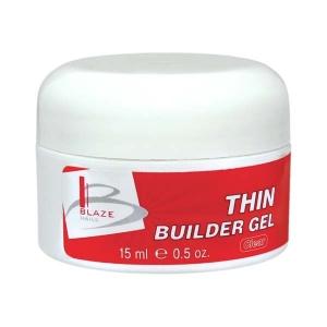 BLAZE Thin Builder Gel  / Clear 15 мл 15 мл
