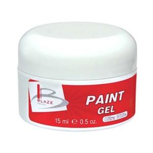 BLAZE Paint Gel - УФ гель-краска, ультра-белая 15 мл