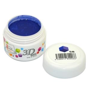 BLAZE 3D Gel - гель объемный цветной / 58 5 мл