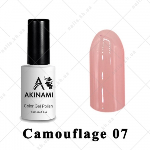 007 - Akinami Color Gel Polish  Camouflage, 9ml