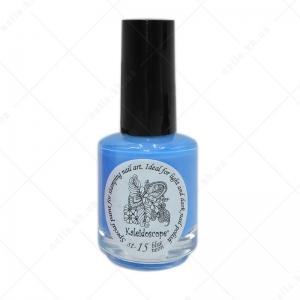 Kaleidoscope краска для стемпинга st-15 Голубой неон