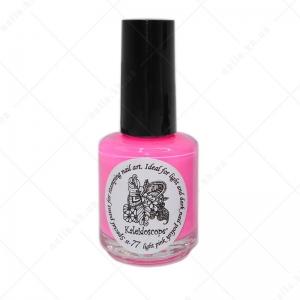 Kaleidoscope краска для стемпинга st-77 Светло розовый